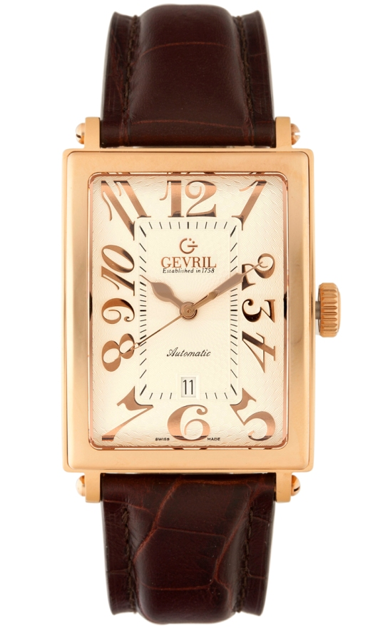 Gevril Luxury Watches - 5100A Mens Avenue of America