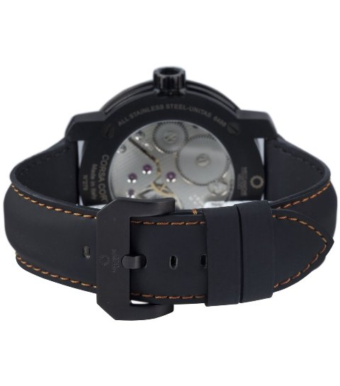 Meccaniche Veloci Mens W413O1_268 Corsa Corta Luxury Exhibition Watch - Back View