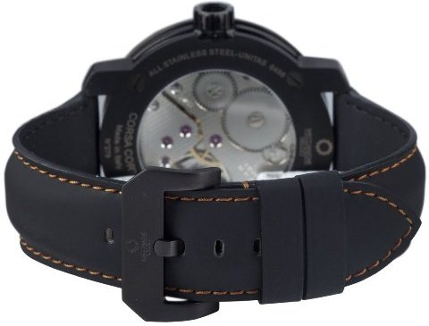 Meccaniche Veloci Mens W413O1_268 Corsa Corta Luxury Exhibition Watch - Movement View