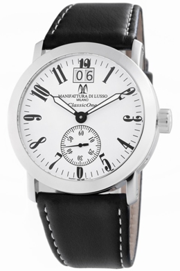 Montres De Luxe Mens CL1 AC WH Classic One White Dial Watch