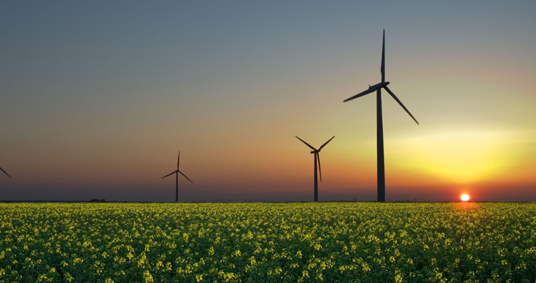 Alternative and Sustainable Energy from Wind Turbines