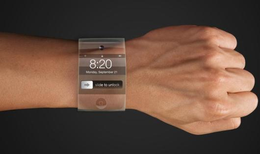 Apple iWatch Mock-up, by Yrving Torrealba