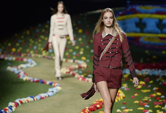 Marsala Featured in the Tommy Hilfiger Collection