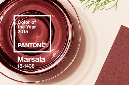 Marsala is the Color of 2015