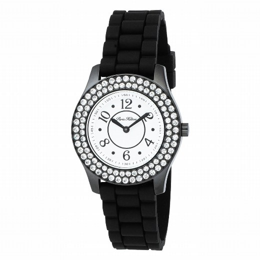 Paris Hilton Ladies 138.5365.60 Round 2 Collection White Dial Fashion Watch