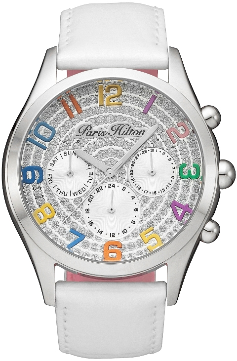 Paris Hilton Ladies 13107JS/04 BEVERLY Fashion Chronograph Watch
