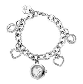 Paris Hilton Ladies 13106LS/28M TINKERBELL Charm Bracelet Fashion Watch