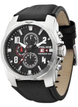 POLICE Mens PL-12900JS-02 Cluster Multifunction Chronograph Watch