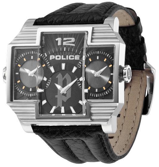POLICE Men's PL.13088JS/02 Hammerhead Collection 3-Dial Watch