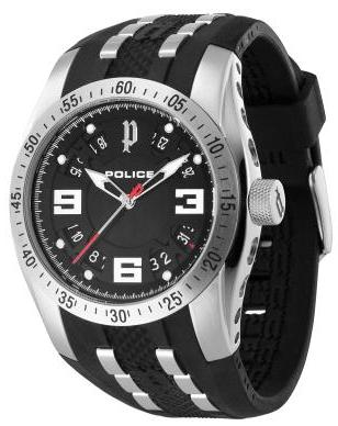 POLICE Mens PL.12892JS/02 Topgear X Fashion Watch