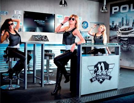 POLICE Girls in the Garage at Baselworld