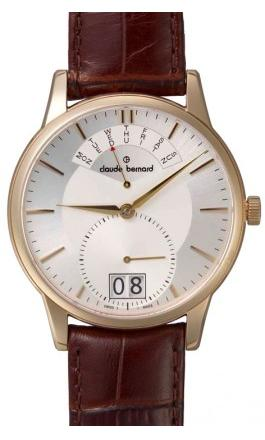 Claude Bernard Quartz Watches - 34004 37R AIR Mens Classic Gents