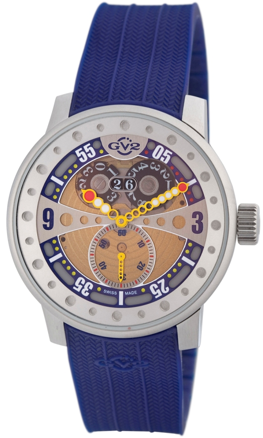 GV2 Quartz Watches - 4042R3 Mens Powerball