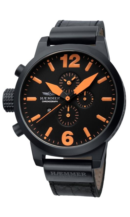 Haemmer Quartz Watches - HC-07 Mens Giants Chronograph