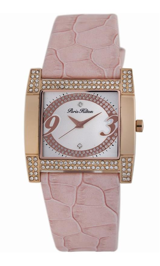 Paris Hilton Quartz Watches - 138.5320.60 Ladies Coussin