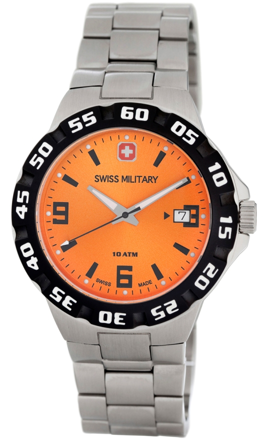 Swiss Military Calibre Quartz Watches - 06-5R1-04-079 Mens Racer