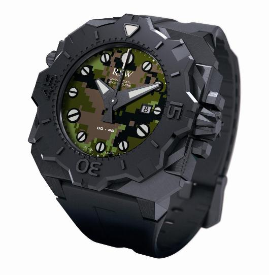 RSW Mens 7050 Diving Tool Camo Limited Edition