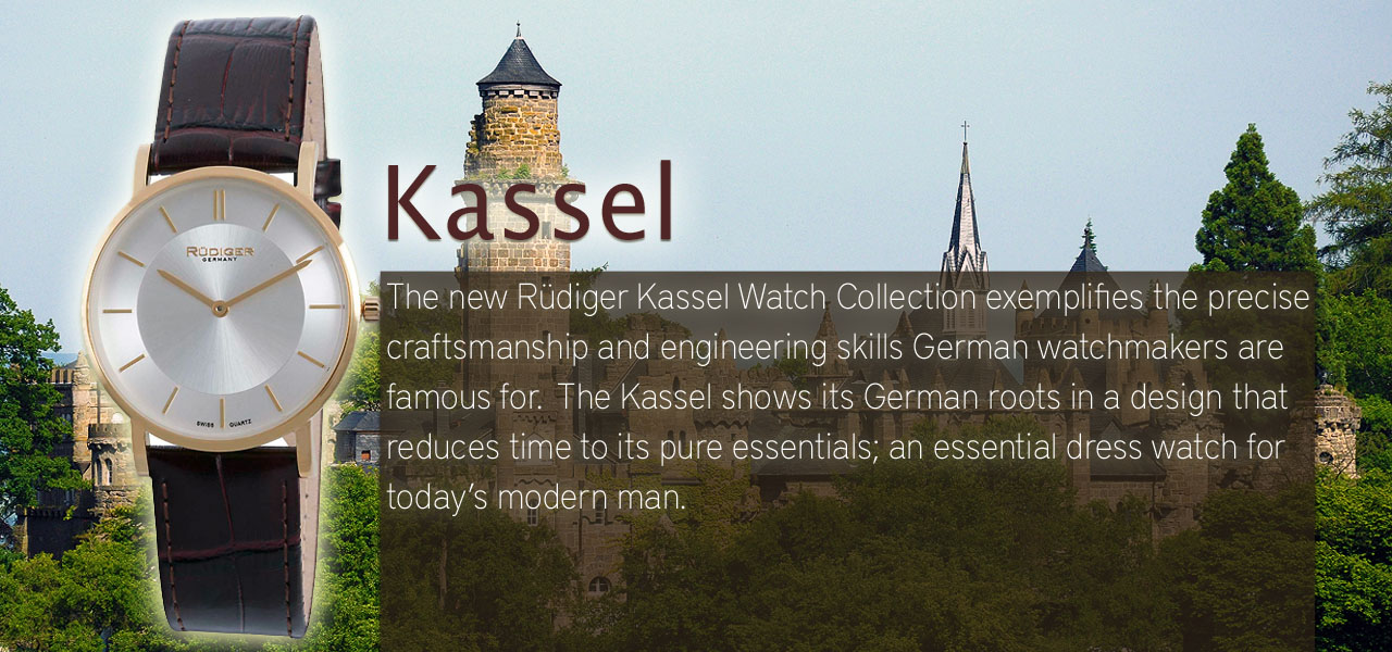 Rüdiger Kassel Watch Collection
