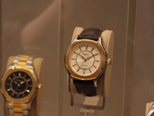 Ferragamo Lungarno Display at Ferragamo Baselworld 2013 Booth