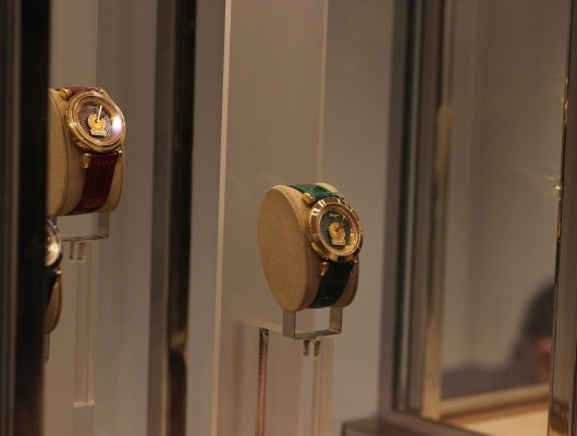 Ferragamo Minuetto Display at Ferragamo Baselworld 2013 Booth