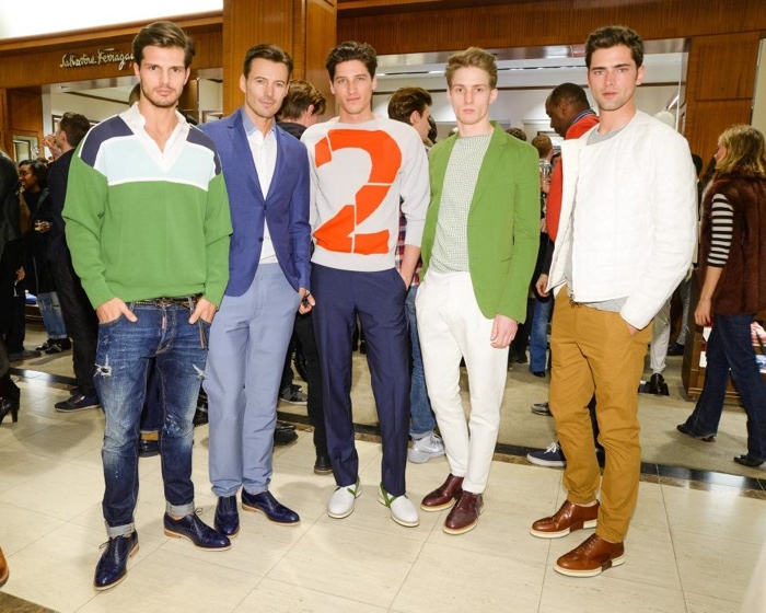 Diego Miguel, Alex Lundqvist, Ryan Kennedy, Michael Lange and Sean O'Pry