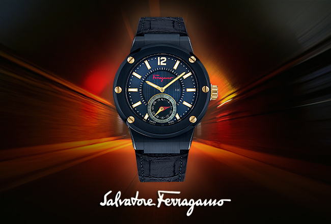 Ferragamo F-80 Motion Smartwatch Collection