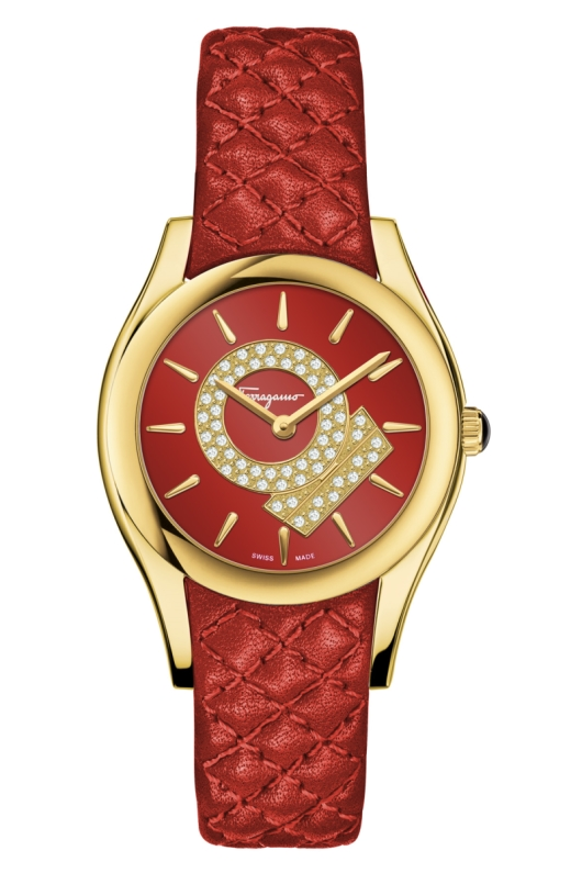 Ferragamo FG5017 Lirica Precious Christmas Edition Watch