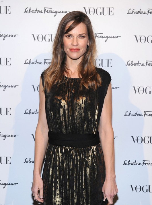 Hilary Swank at Ferragamo After Party