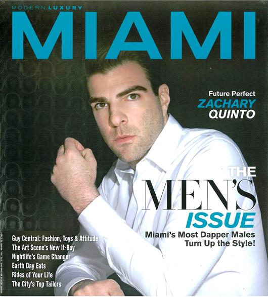 Modern Luxury Miami April 2013 Cover