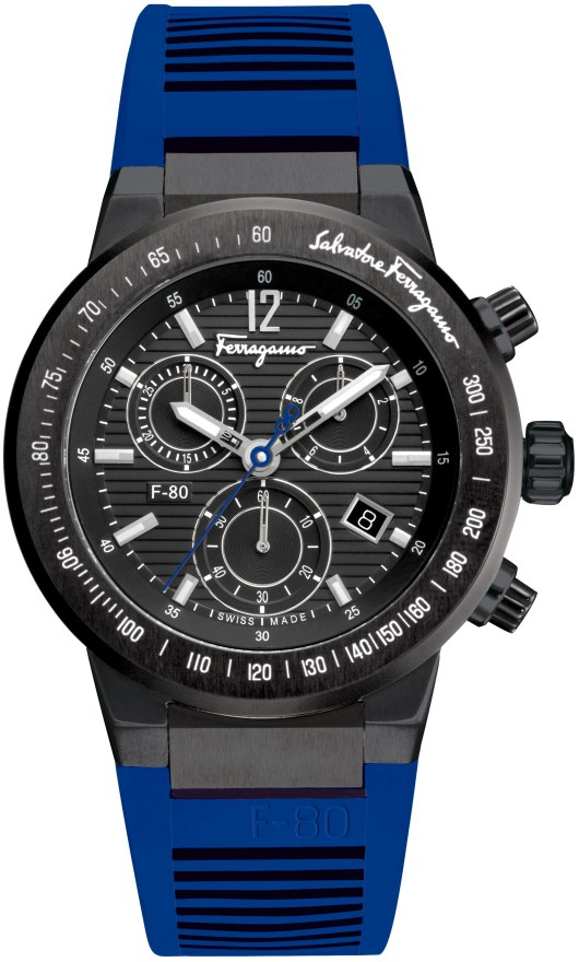 New F-80 Chronograph Introduced at Baselworld 2012 - F55LCQ6809SR04