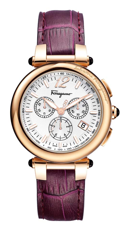 New Ferragamo Idillio Chronograph Introduced at Baselworld 2012 - F77LCQ5091 SB42