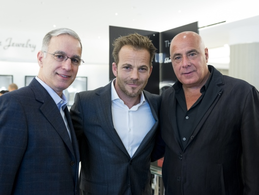 Paul Ziff with Stephen Dorff and Details Magazine Publisher Kevin Martinez