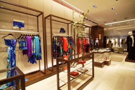 Salvatore Ferragamo Fifth Avenue Flagship Boutique Clothing