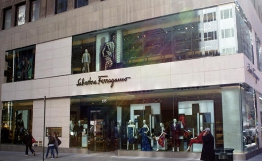 Salvatore Ferragamo's impressively re-styled Fifth Avenue Flagship boutique