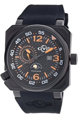 GV2 Mens 4512 XO Submarine Swiss-Made Quartz Chronograph
