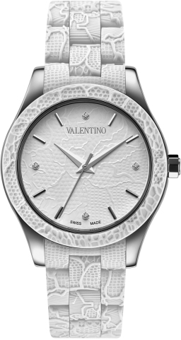 Valentino Ladies V57MBQ9R01IS001 Lace Collection Watch