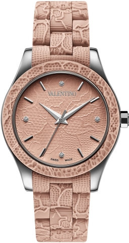 Valentino Ladies V57MBQ9R97IS111 Lace Collection Watch
