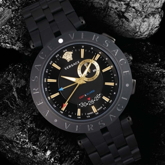 Versace V-Race Men's GMT Alarm Watch