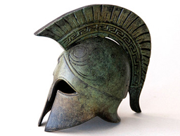Greek Key Helmet