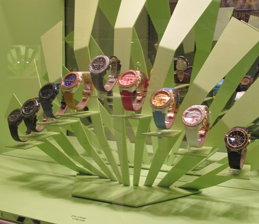 Versace DV One Cruise Display at Baselworld 2012