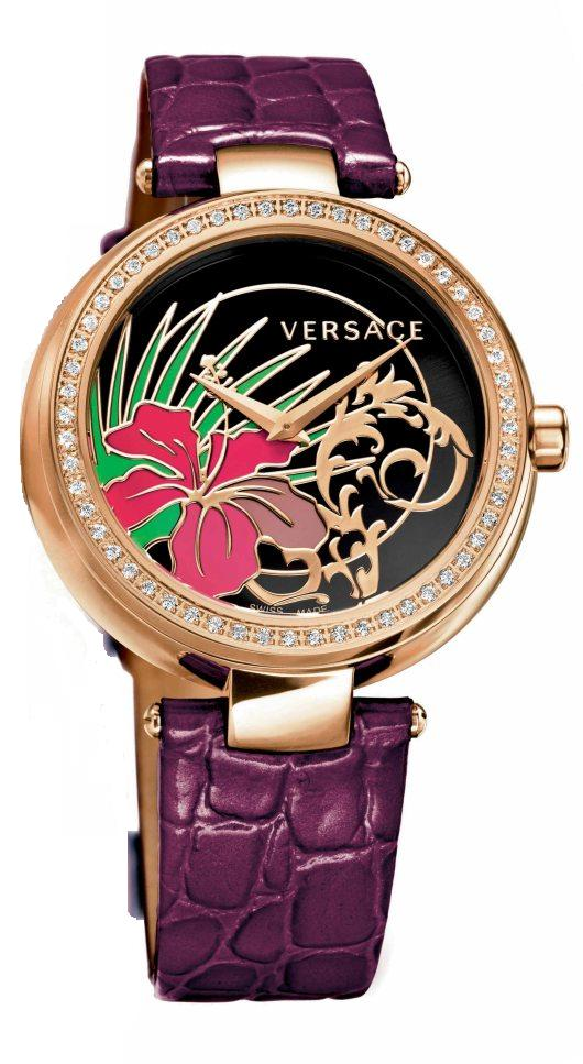 Versace Mystique Hibiscus Introduced at Baselworld 2012 - I9Q81D9HI