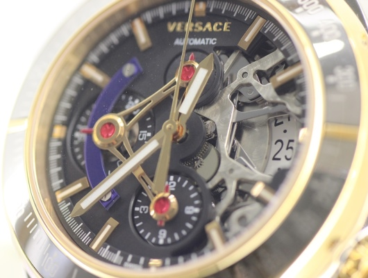 Versace DV One Skeleton Watch
