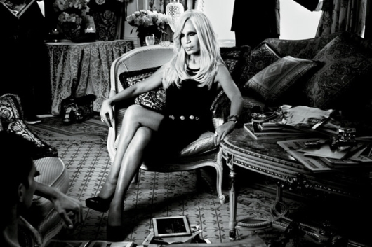 Donatella Versace Interviewed by Nicki Minaj