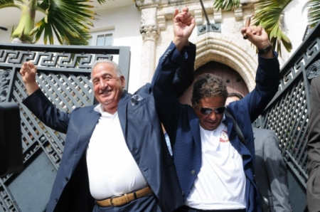 Joe Nakash and Eli Gindi Rejoice After Purchasing Versace Mansion