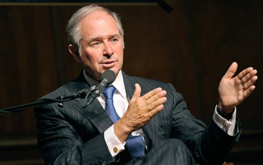 Stephen A. Schwarzman, CEO and Co-Founder of Blackstone