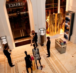 Versace DV One Cruise Collection Launch at New York Versace Boutique