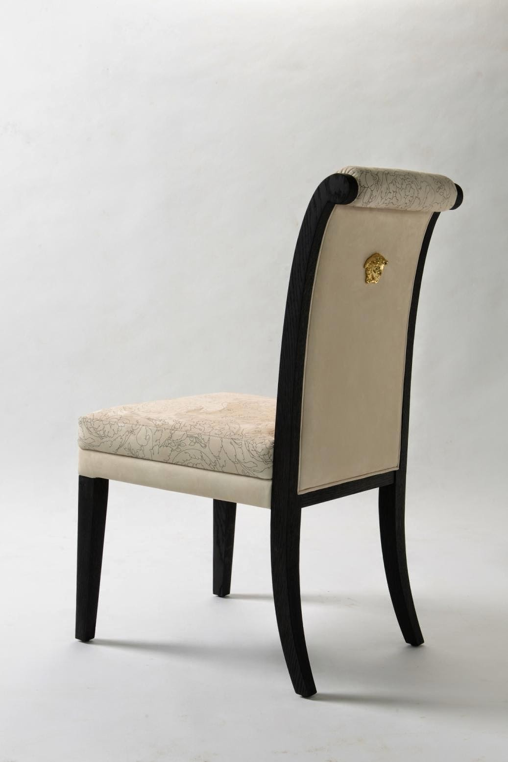 Palazzo Versace Dining Chair, Versace Dining Chair With Medusa