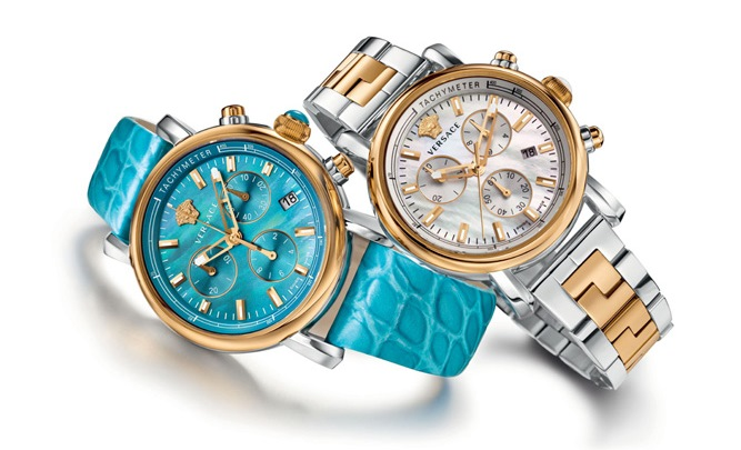 Versace Day Glam Watch Collection