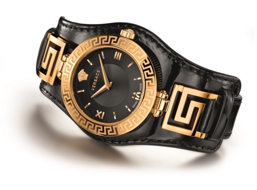 Versace V-Signature Watch Collection - Black Model