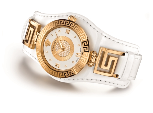 Versace V-Signature Watch Collection - White Model